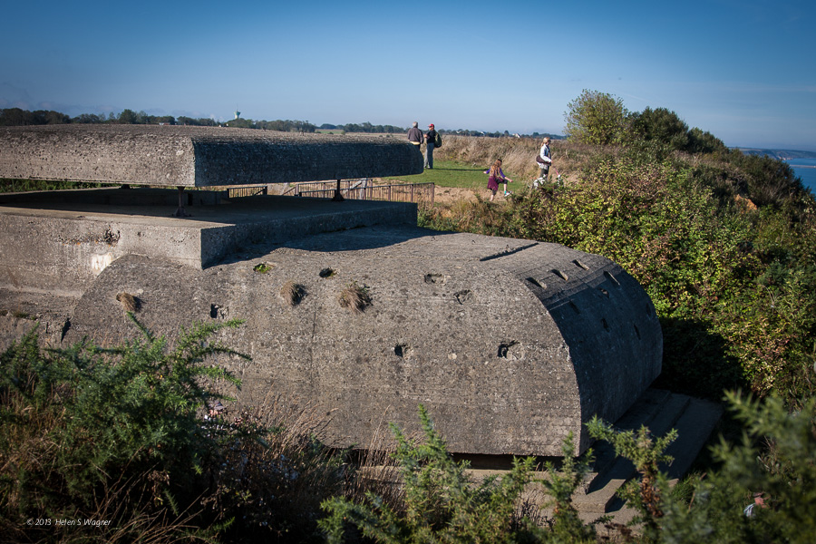 Casement, Longues-sur-Mer  Normandy, France