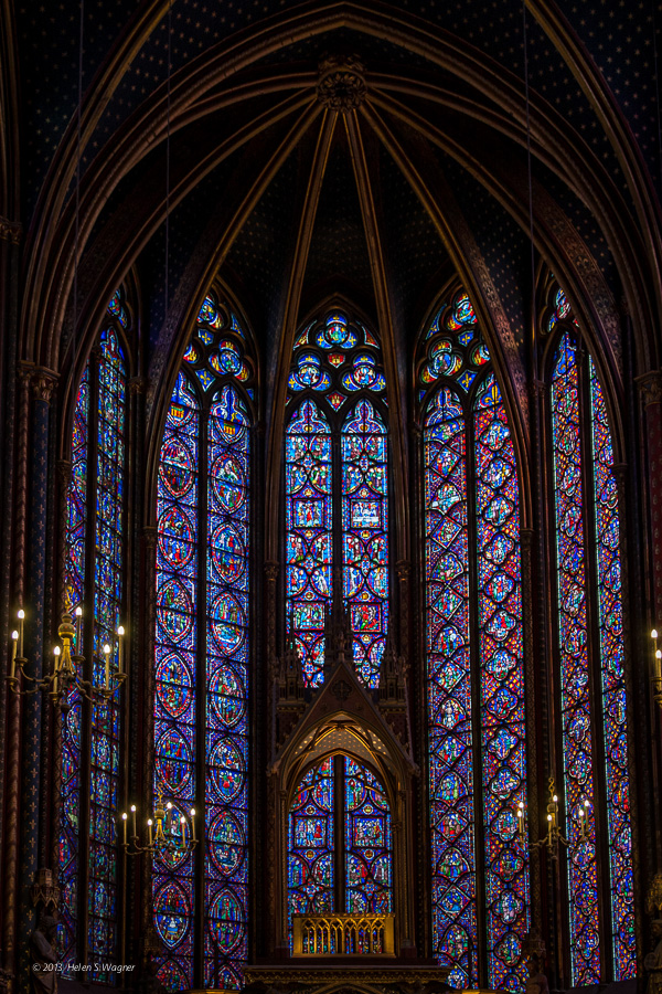 Sainte-Chapelle  Paris, France