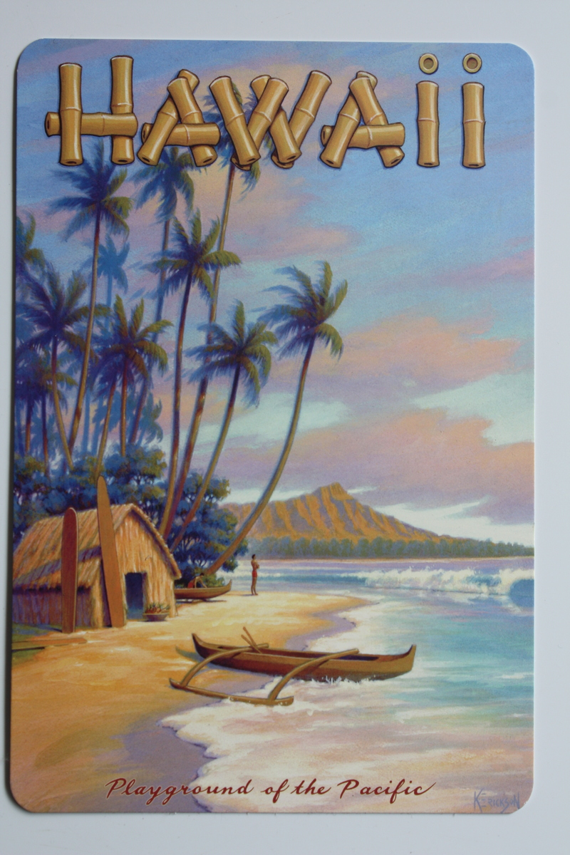 Hawaiian Postcard, not a photograph for this project