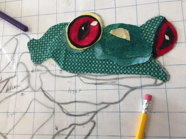 Student work Red eyed Tree frog
