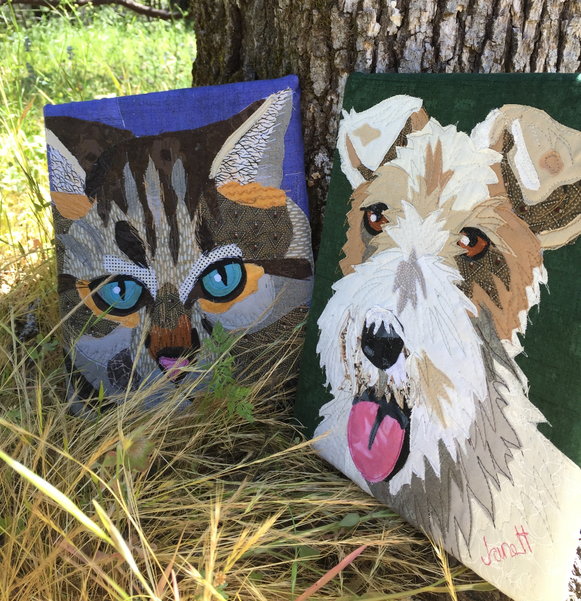 "8 x 10"" Pet Portrait Samples"