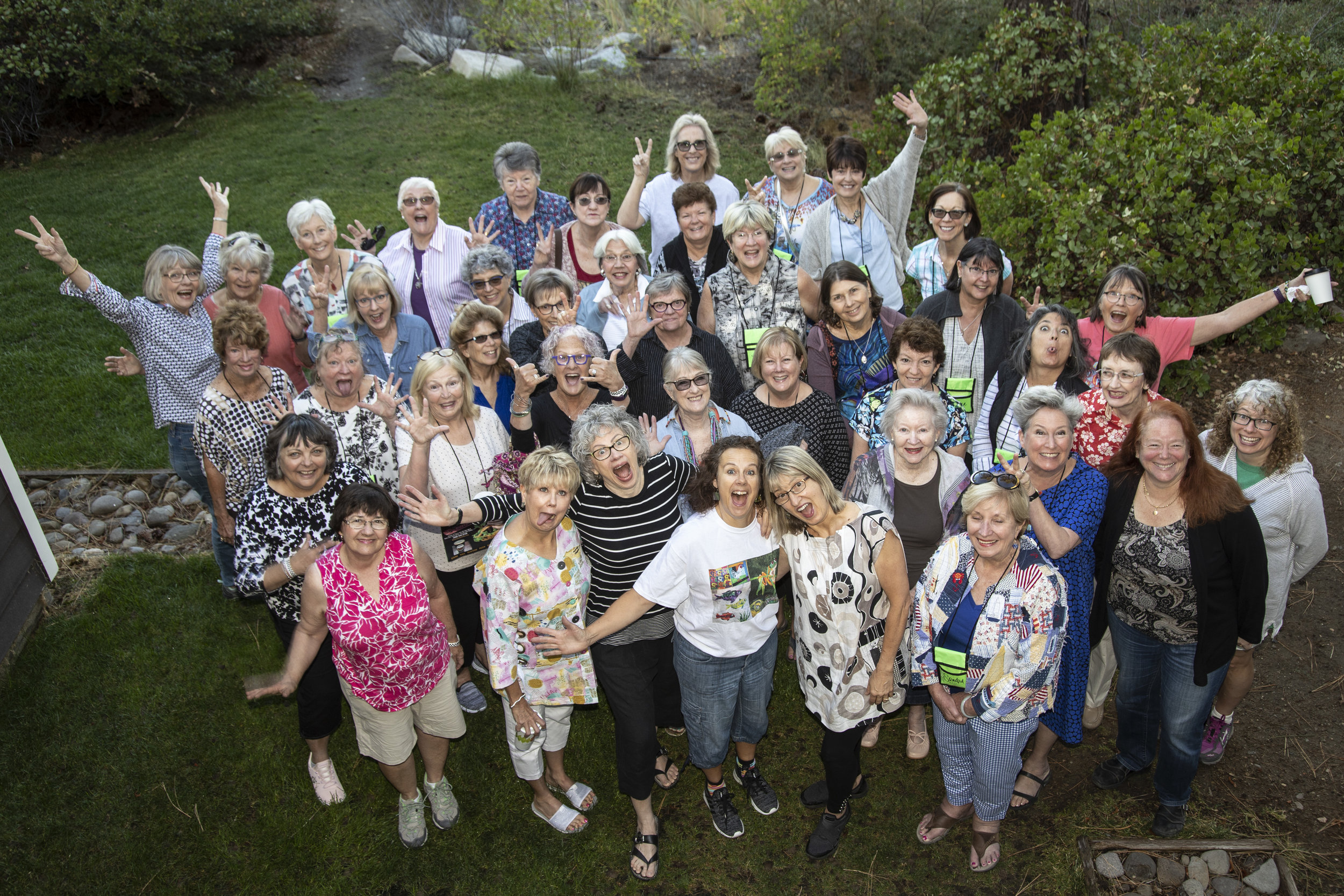 Fun times at the 2018 Artistic Alchemy Retreat