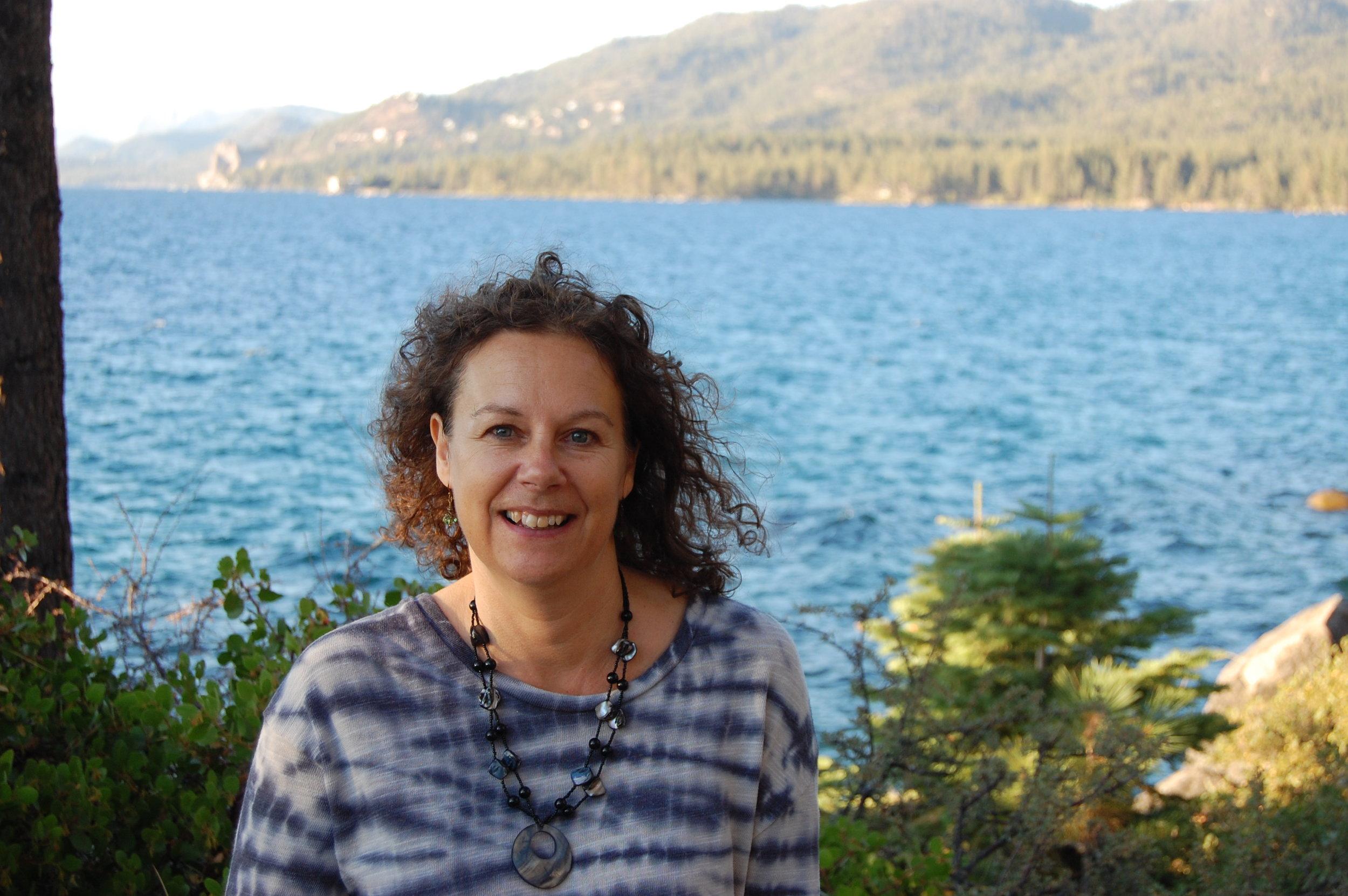 Enjoying the beauty of Lake Tahoe