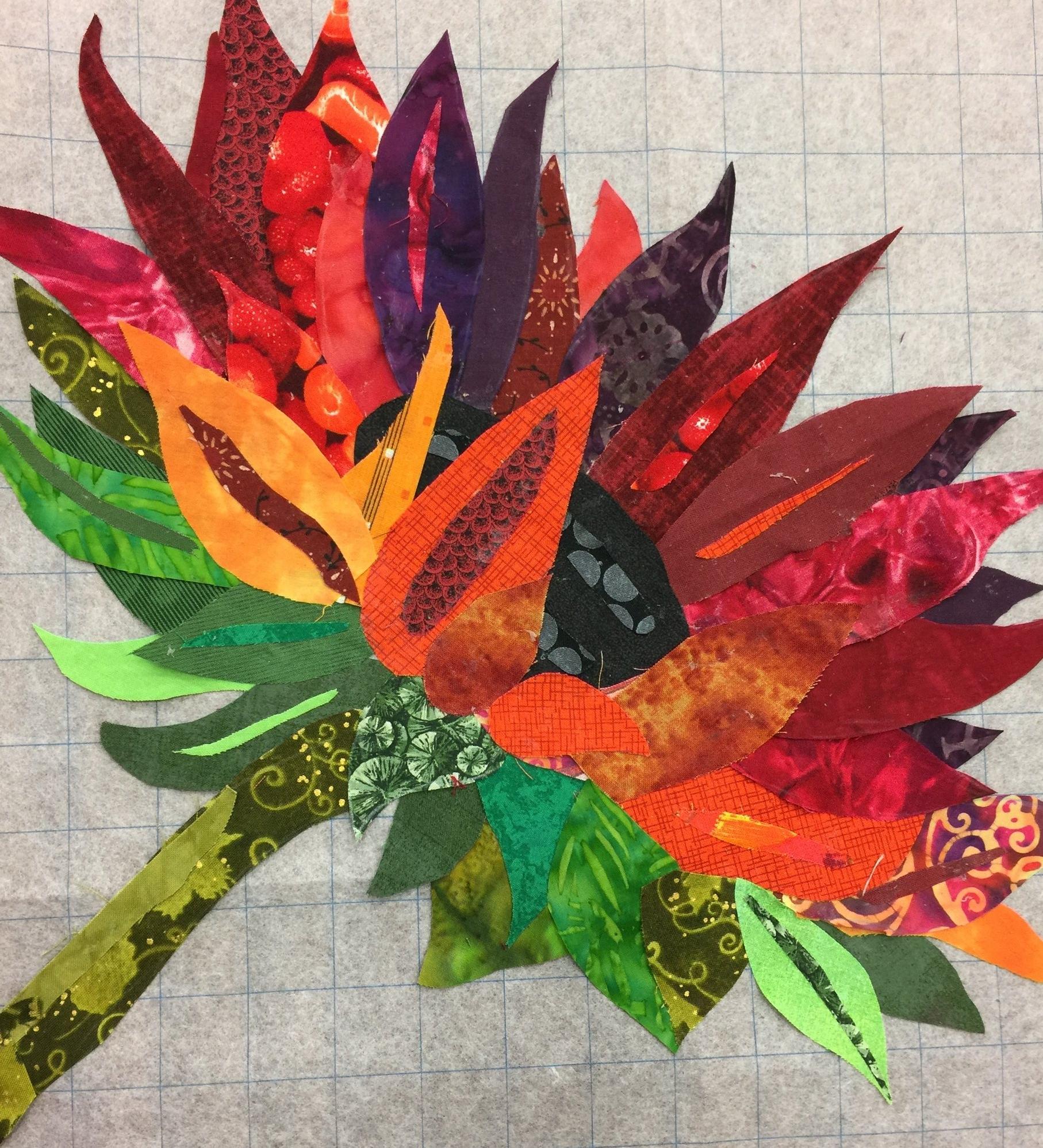 Student Work Sunlit Sunflowers