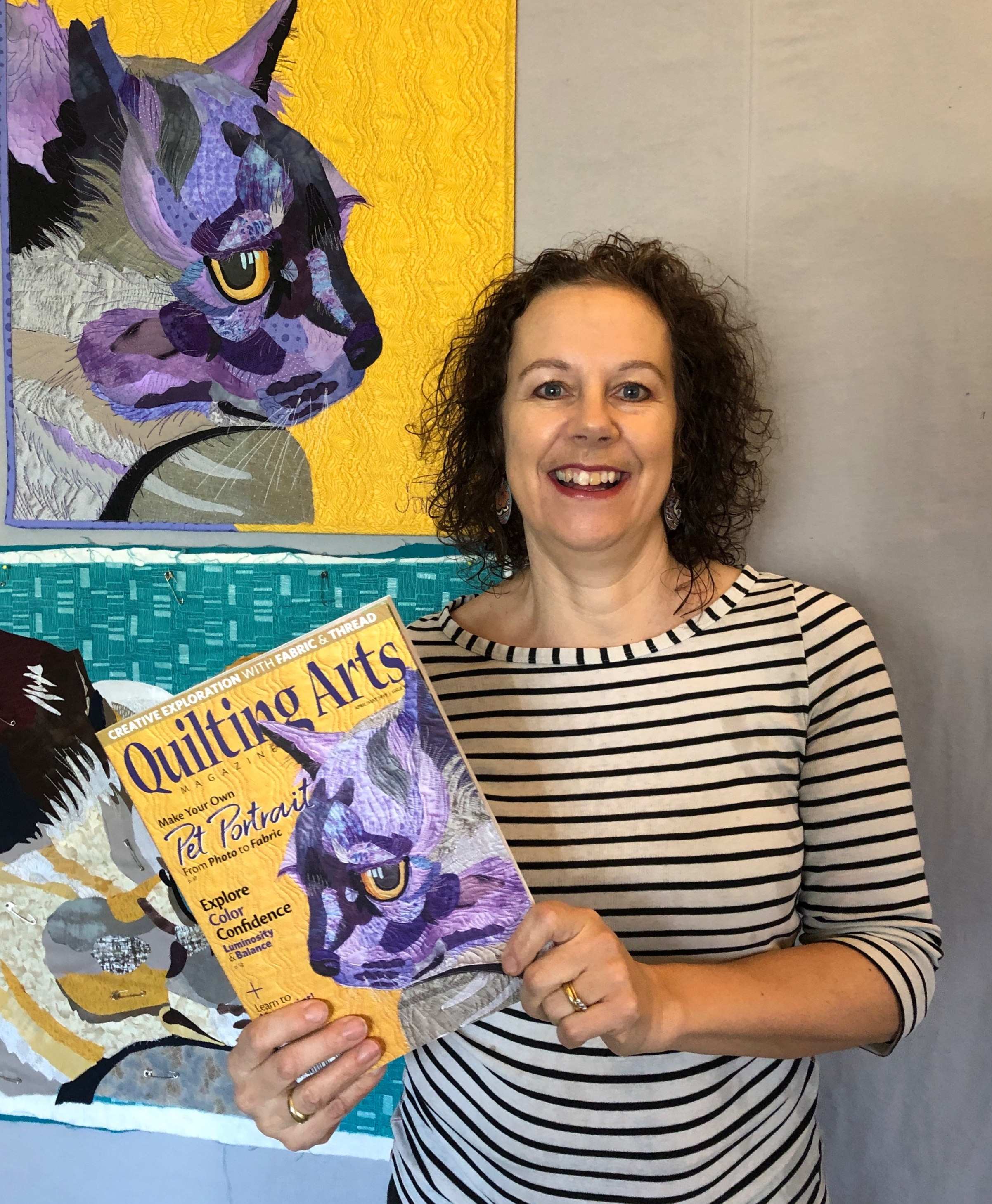 April/May 2019 Quilting Arts magazine