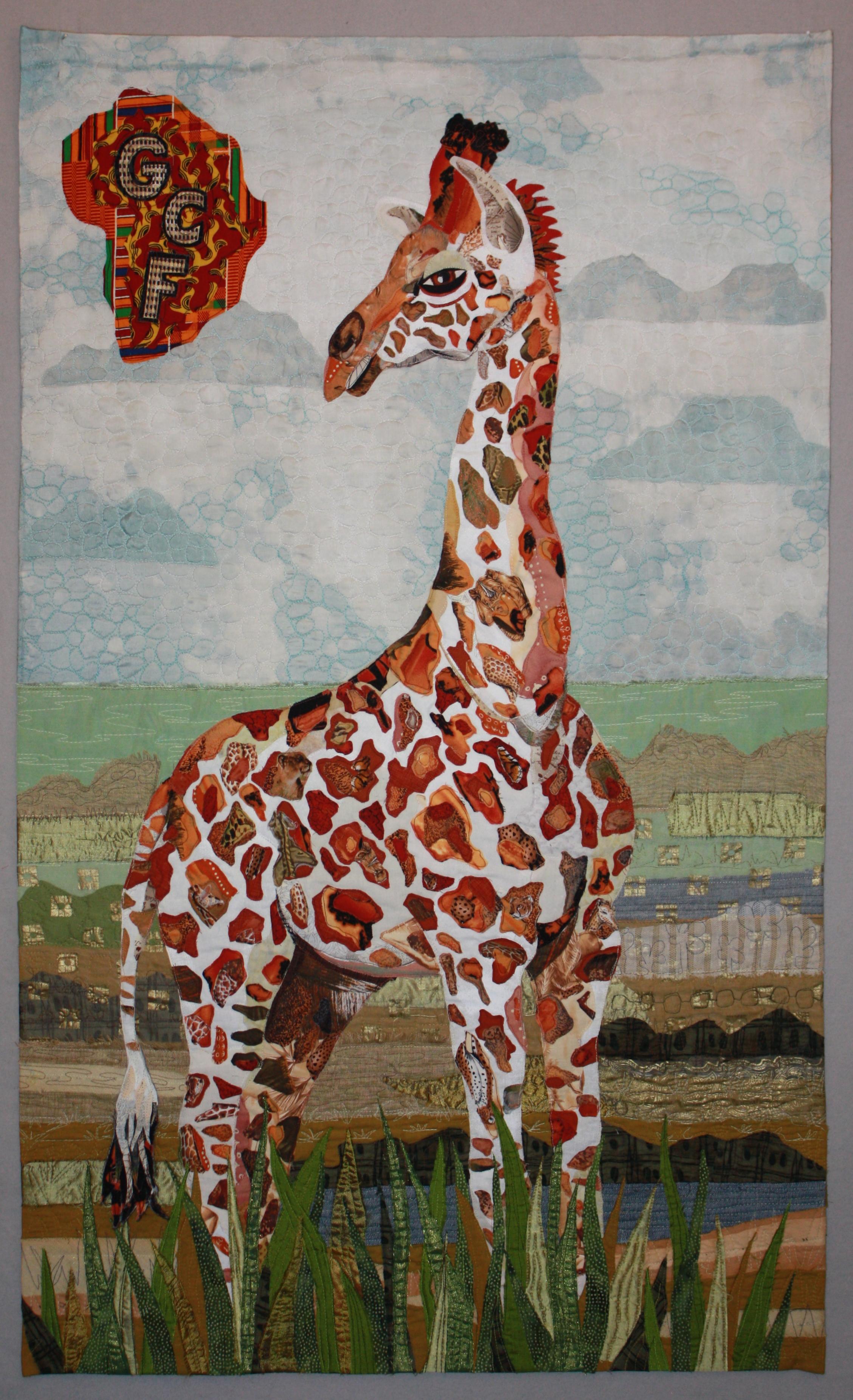 Gentle Giant, Nubian Giraffe Calf