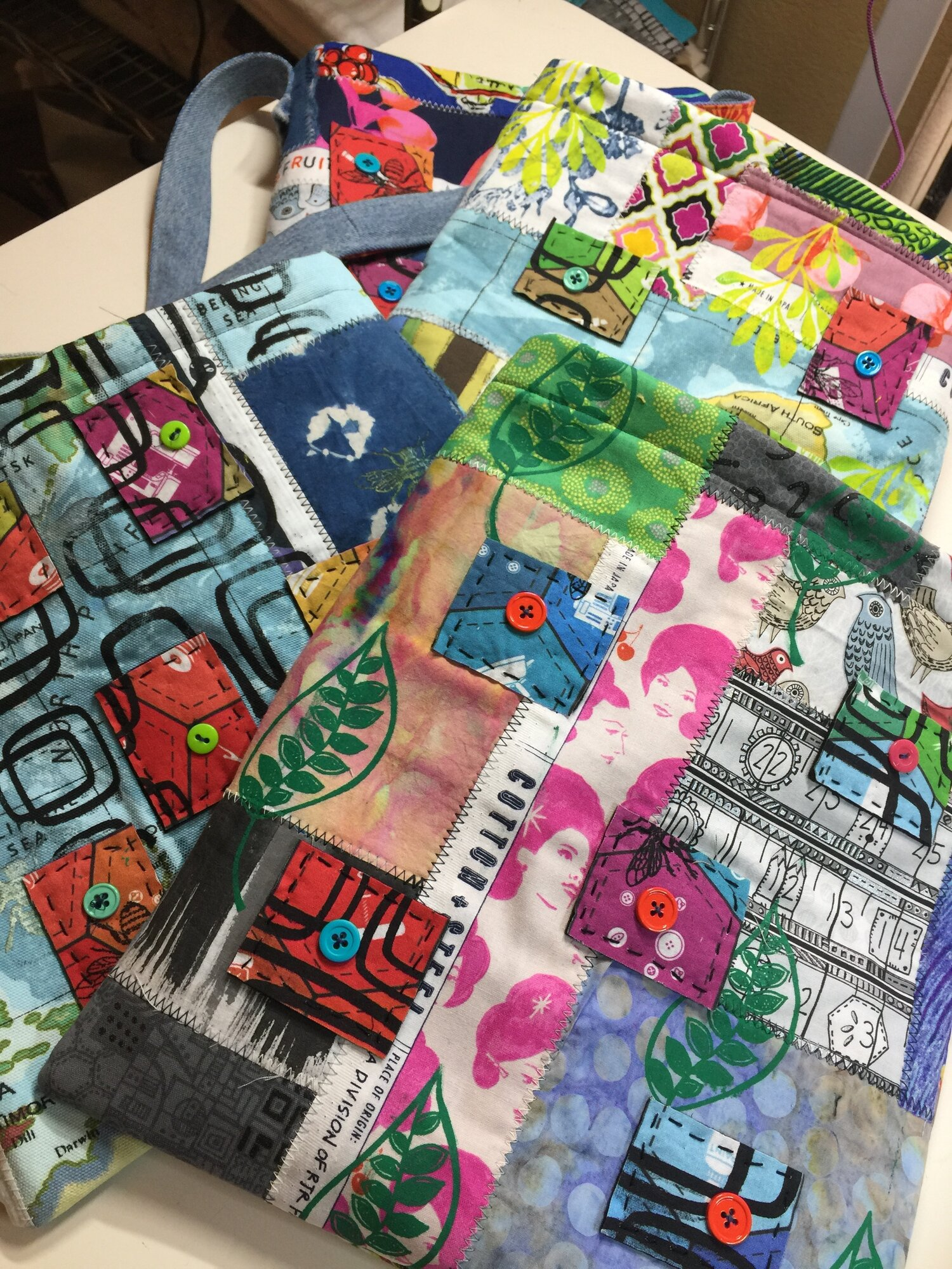 For sale Collage Bags Jane Haworth