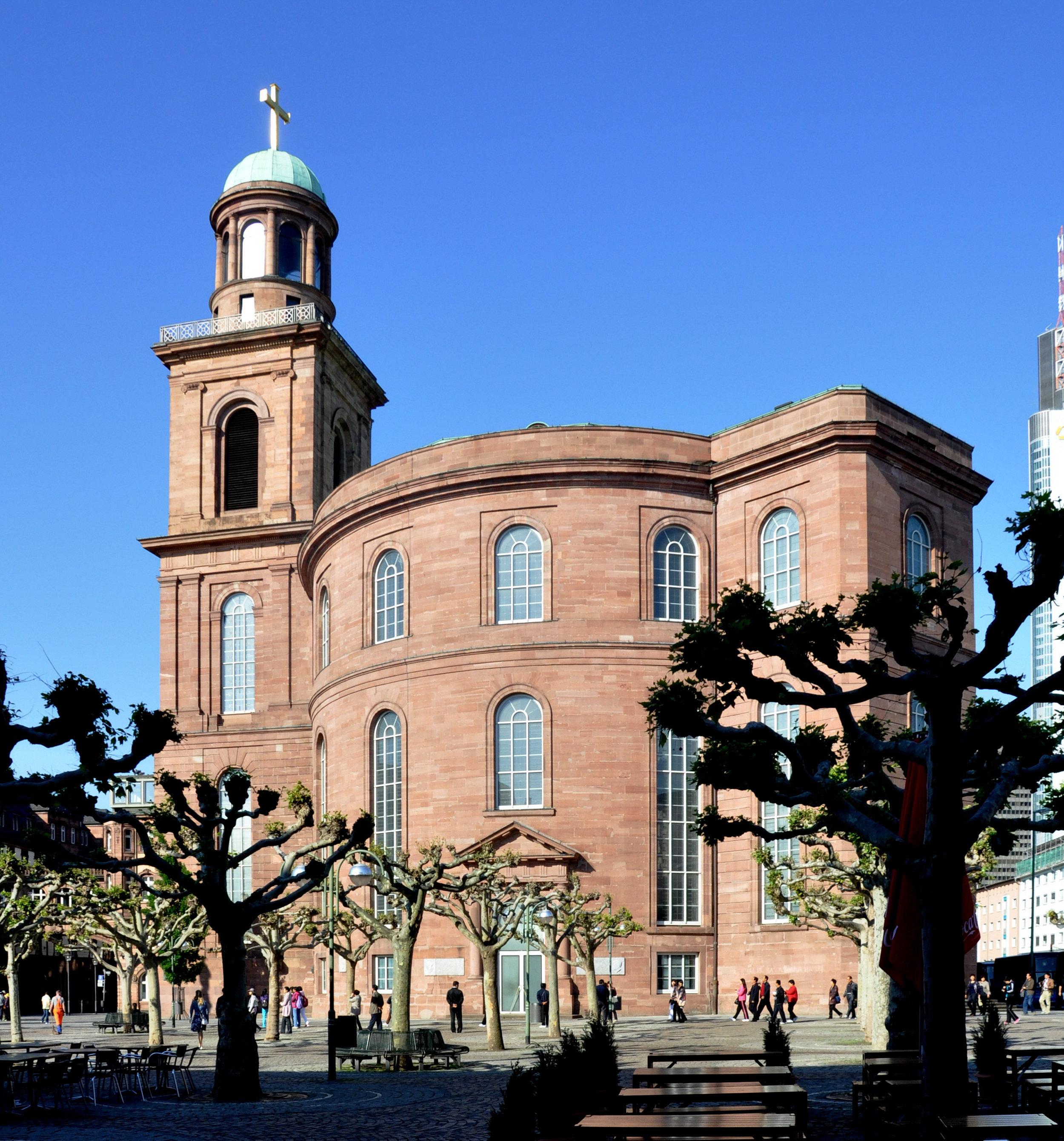 Paulskirche La Iglesia de San Pablo