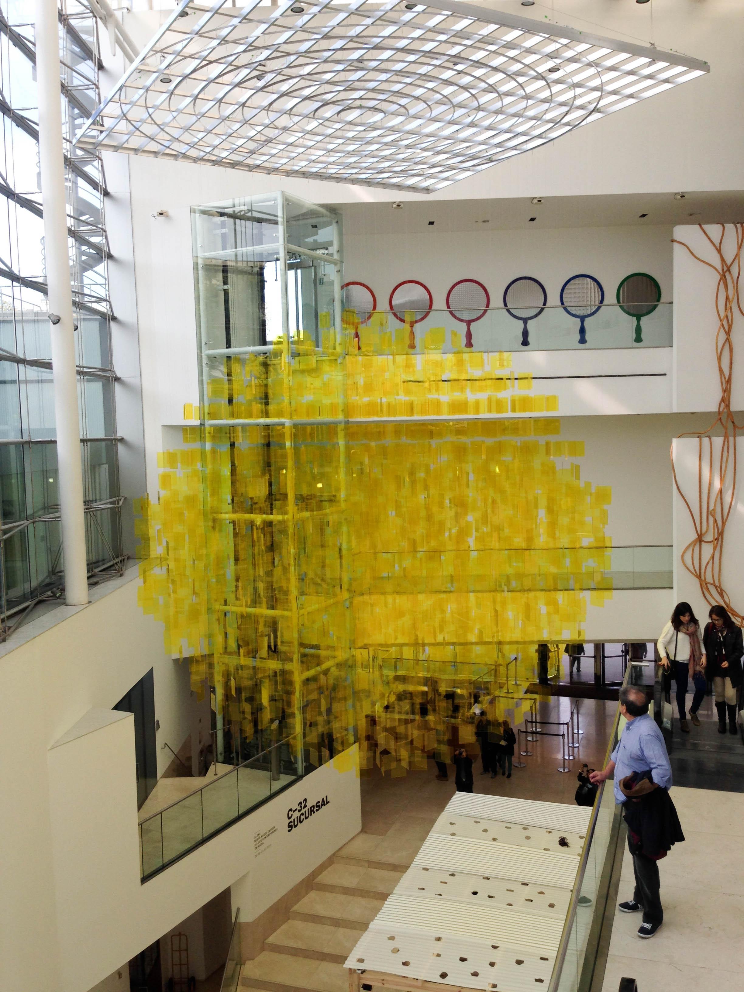 Dentro del Museo del Malba