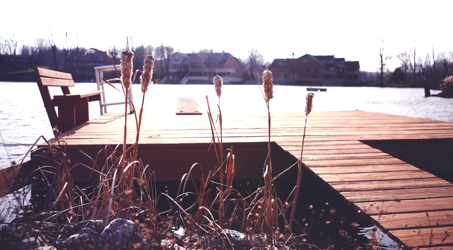 I took this during my recent visit back home over Thanksgiving Break. This dock overlooksthe lake in front of my house in Kokomo.
