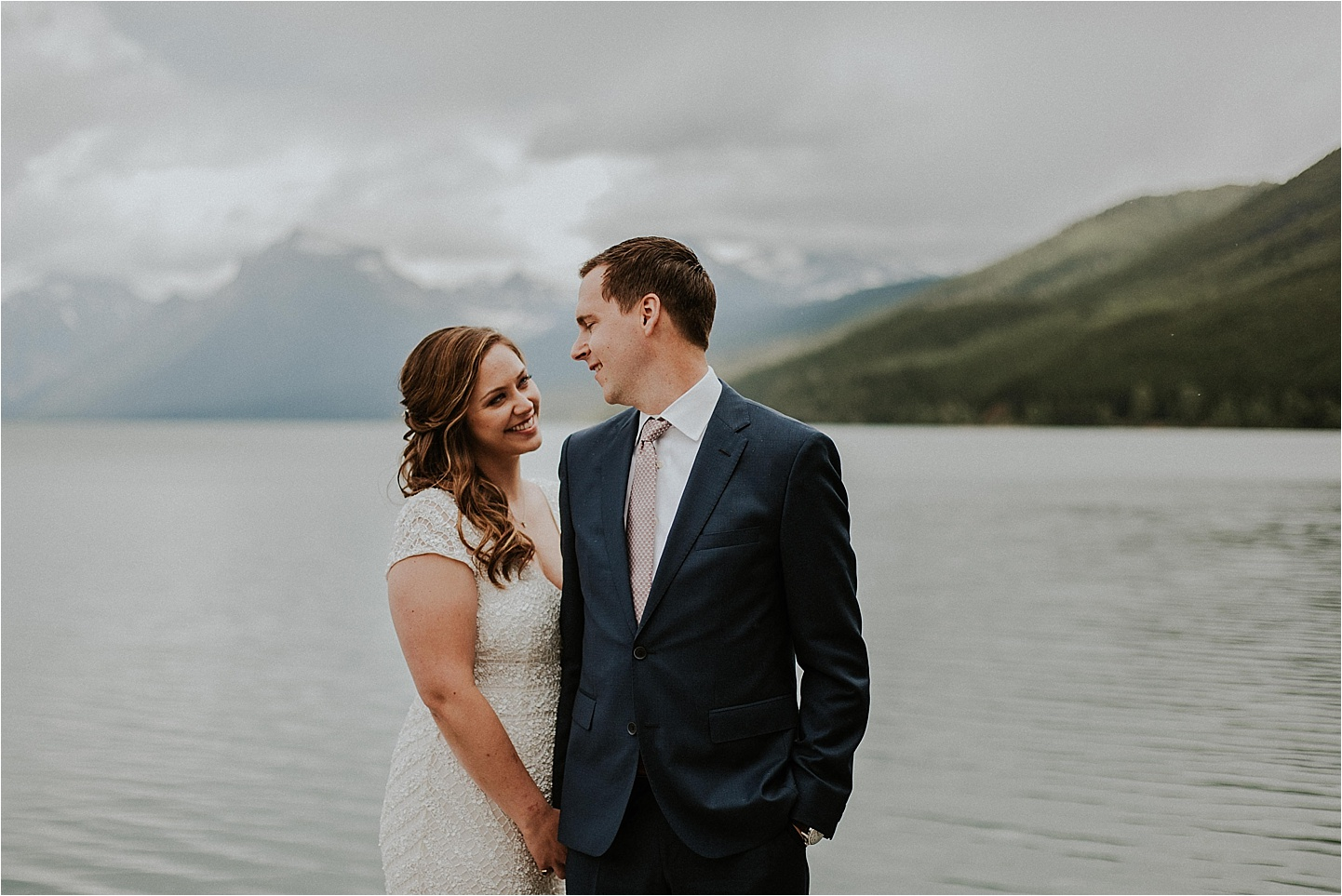 glacier national park montana bride love.jpg