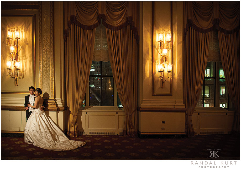 Hotel Vancouver Wedding Photography by Randal Kurt Photography