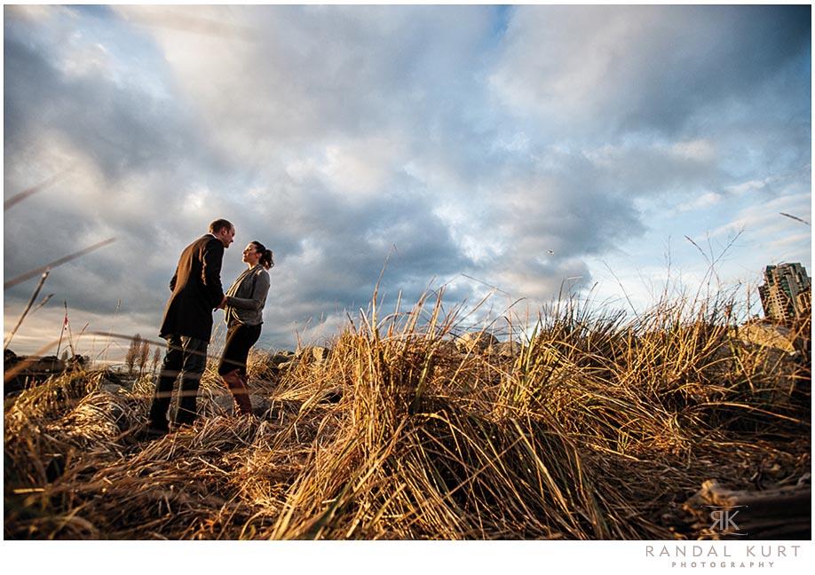 An Engagement Session at English Bay - Randal Kurt Photography