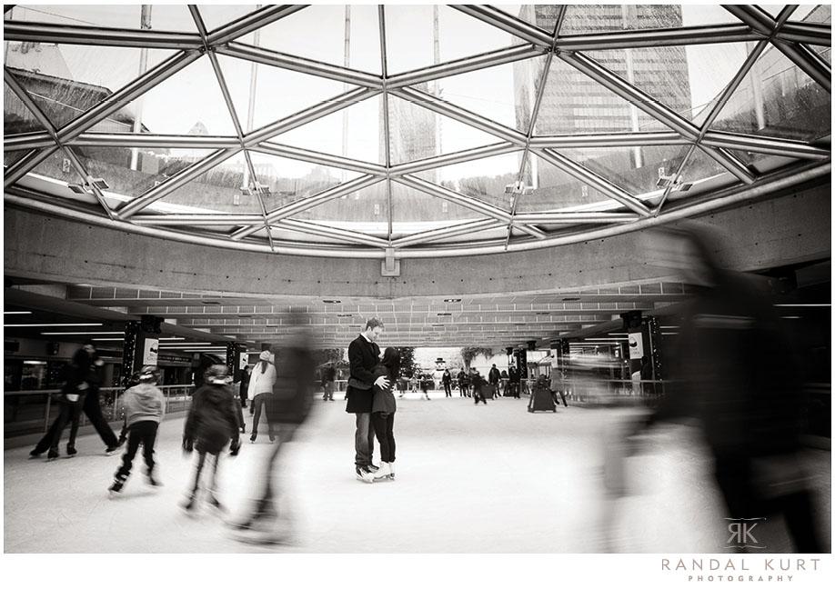 A Skating Engagement Session by Randal Kurt Photography