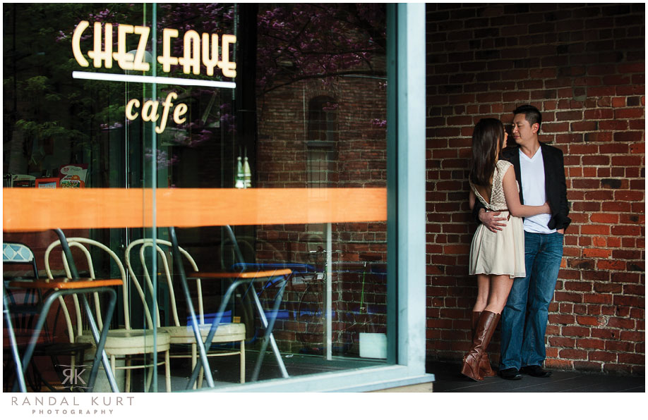 A Yaletown Engagement Session