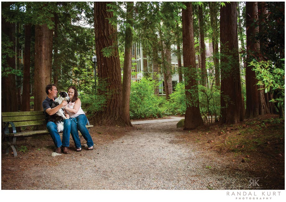 An Adventurous Engagement Session With Michelle and Chris