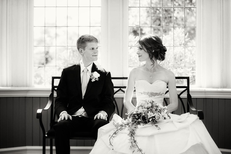 Sabine & Craig's elegant Cecil Green Park House wedding | Image by Randal Kurt Photography