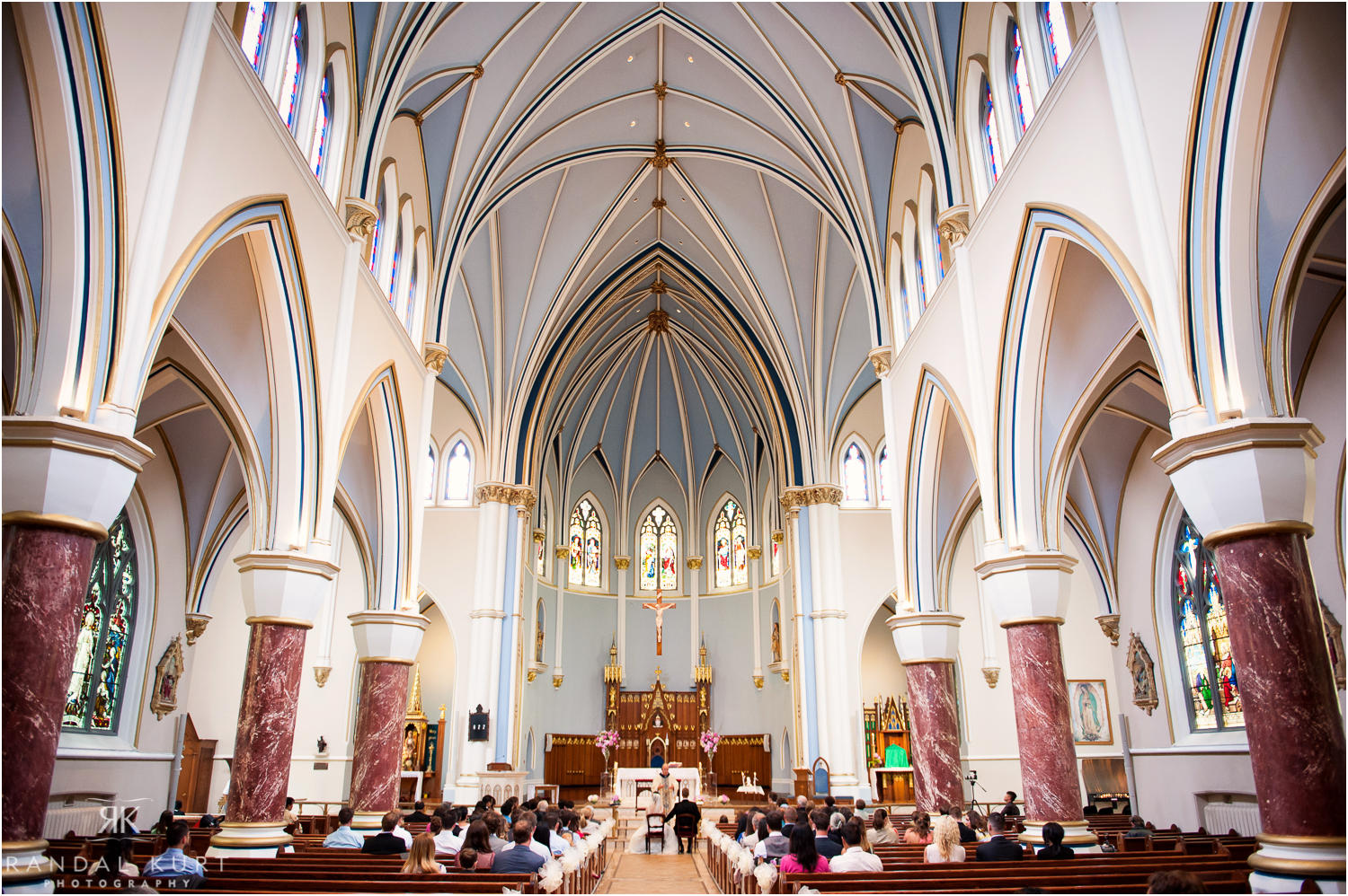 The Ceremony at the Holy Rosary Cathedral