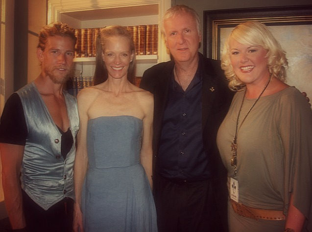 APRIL 2010 - HEATHER INTERVIEWS DIRECTOR JAMES CAMERON FOR  THE TENNESSEAN