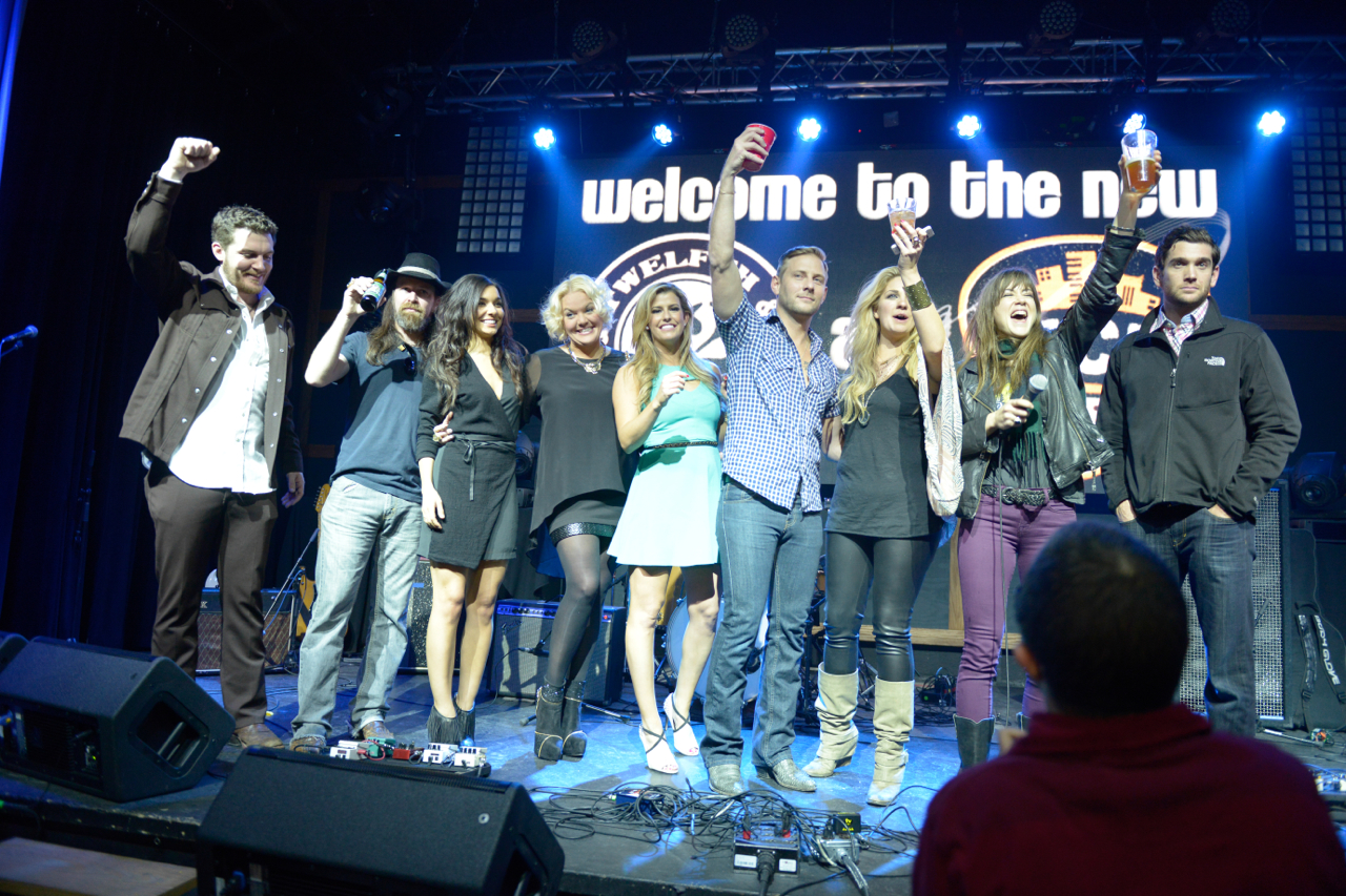 JANUARY 2014: SEE ALL THE PHOTOS FROM THE CRAZY HEARTS PREMIERE PARTY IN NASHVILLE AT 12TH & PORTER