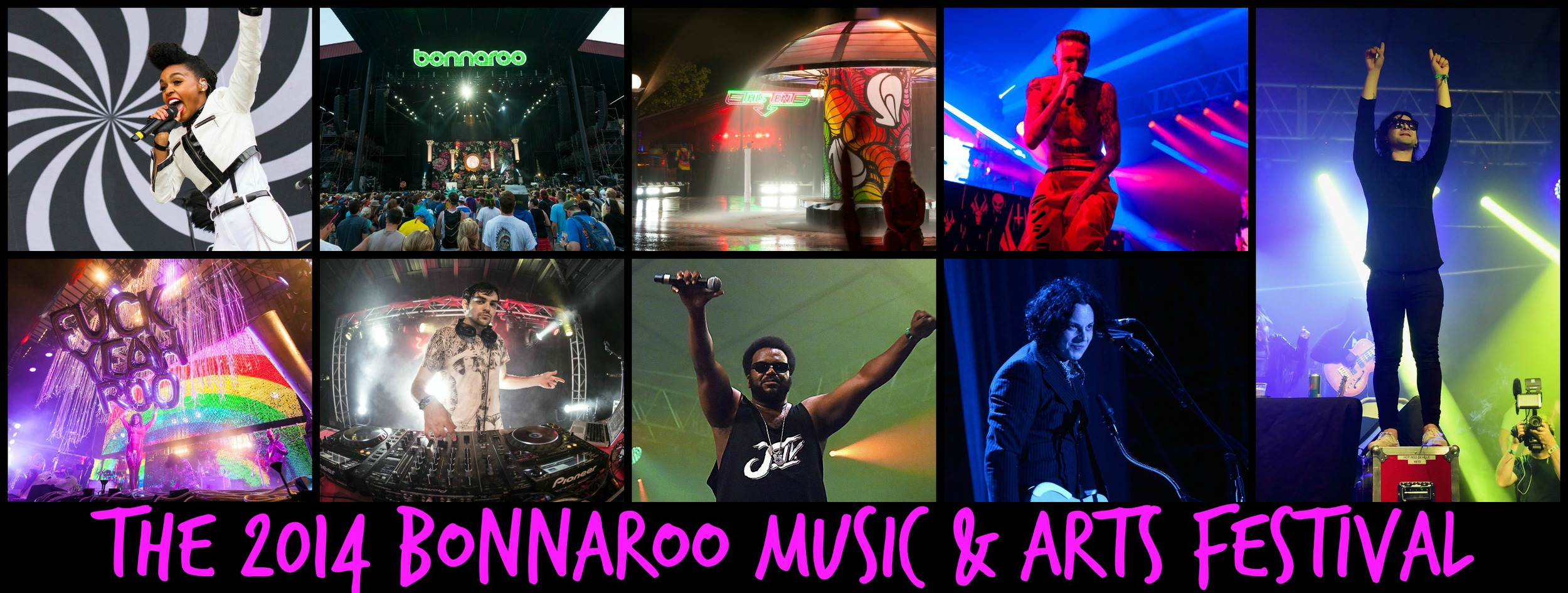 JUNE 2014 - HEATHER ATTENDED AND COVERED THE BONNAROO MUSIC & ARTS FESTIVAL FOR DO615
