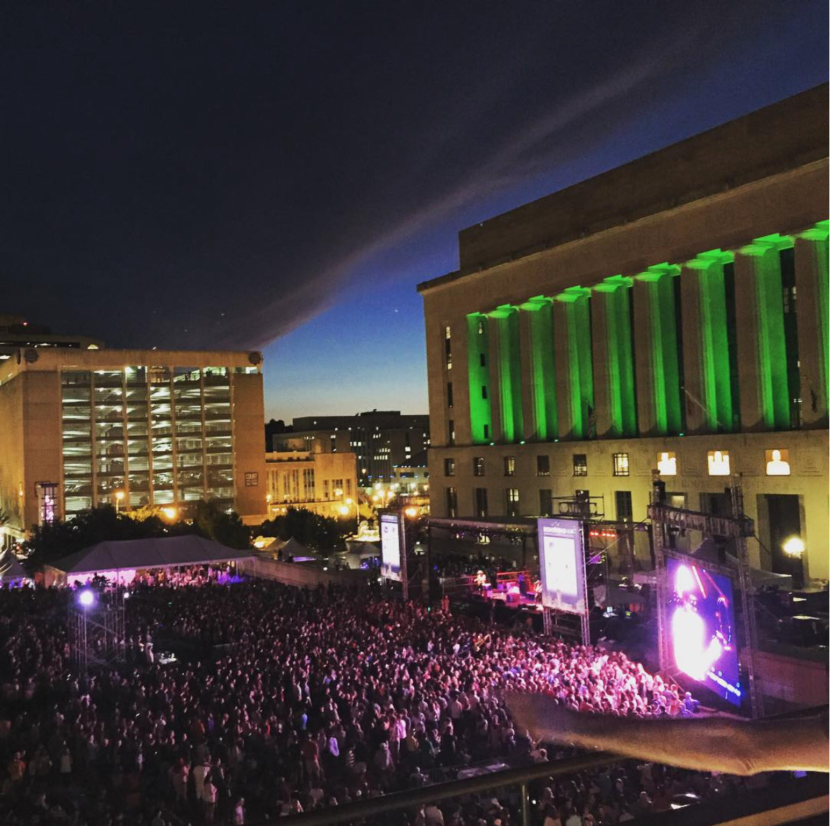 SEPTEMBER 2015 - LIVE ON THE GREEN BREAKS ATTENDANCE RECORDS AND RECEIVES SIX 'BEST OF NASHVILLE' AWARDS IN THE NASHVILLE SCENE'S READER'S POLL