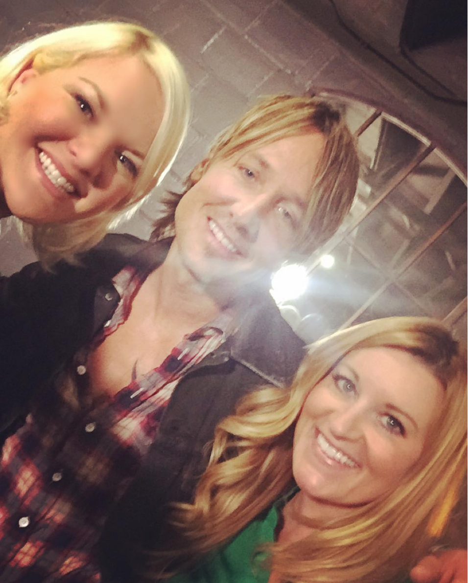 NOVEMBER 2015 - COVERING KEITH URBAN'S NO. 1 PARTY FOR US WEEKLY