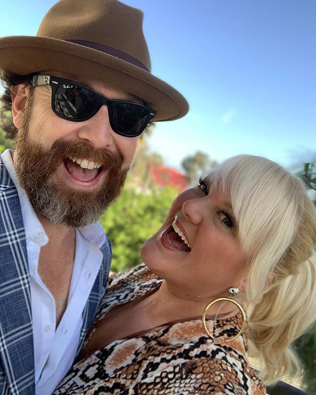 Dashed to sunny LA from NYC on Friday with this handsome fella for the #swisherartistproject #sparkparty2019 with @iamcardib! @taillighttv #teamtaillight