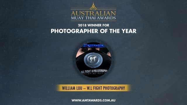Australian Muay Thai Awards Photographer of the Year 2018