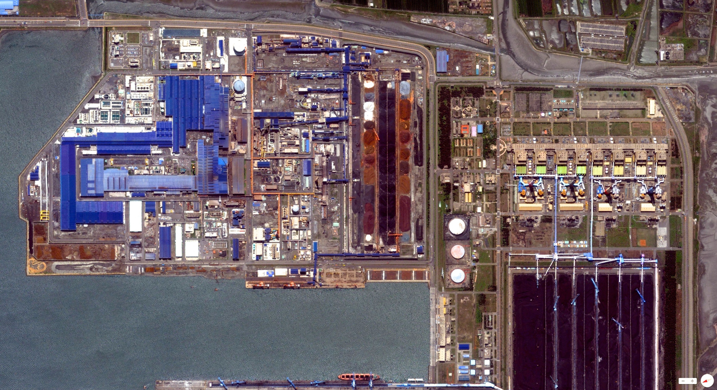 12/27/2013    Taichung Power Plant   Taichung City, Taiwan   24°12′46″N 120°28′52″E