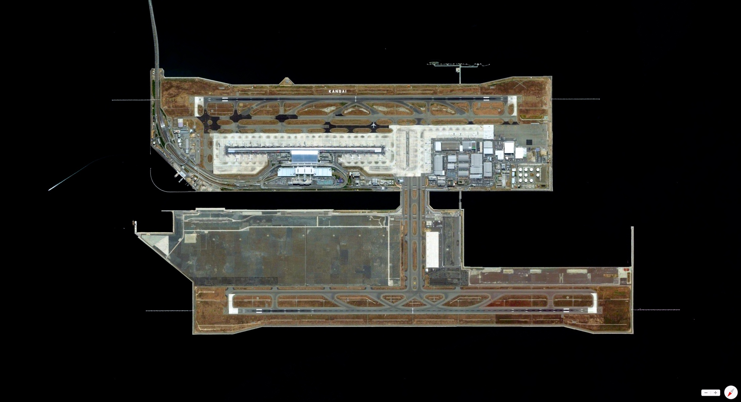 12/26/2013    Kansai International Airport   Osaka Bay, Osaka, Japan   34°26′03″N 135°13′58″E