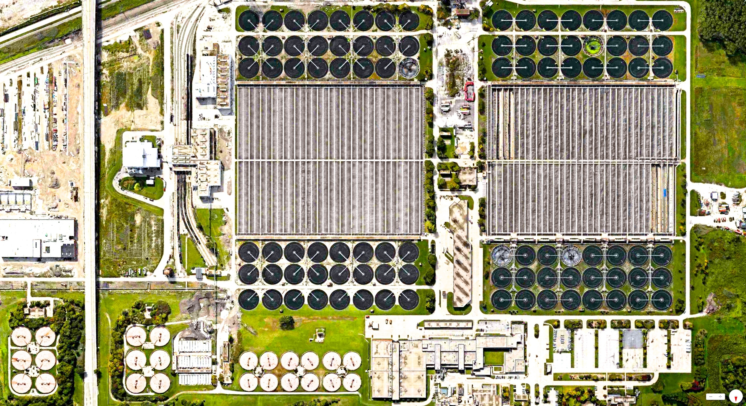12/30/2013    Stickney Water Reclamation Plant   Cicero, Illinois, USA   41°50′43″N 87°45′36″W