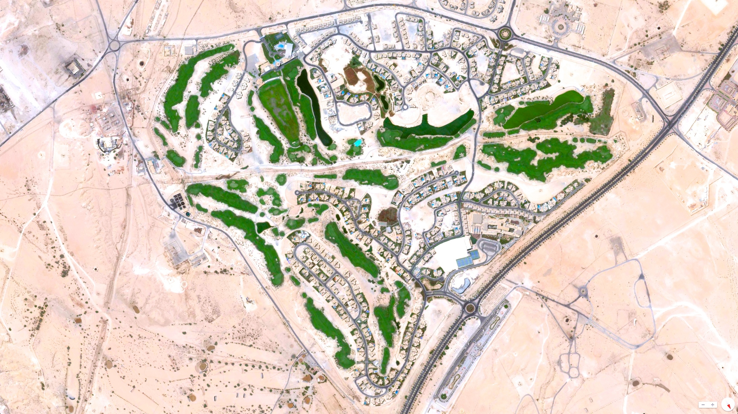 1/10/2014    The Royal Golf Club   Riffa, Bahrain  N26° 6.2287', E050° 33.9063'