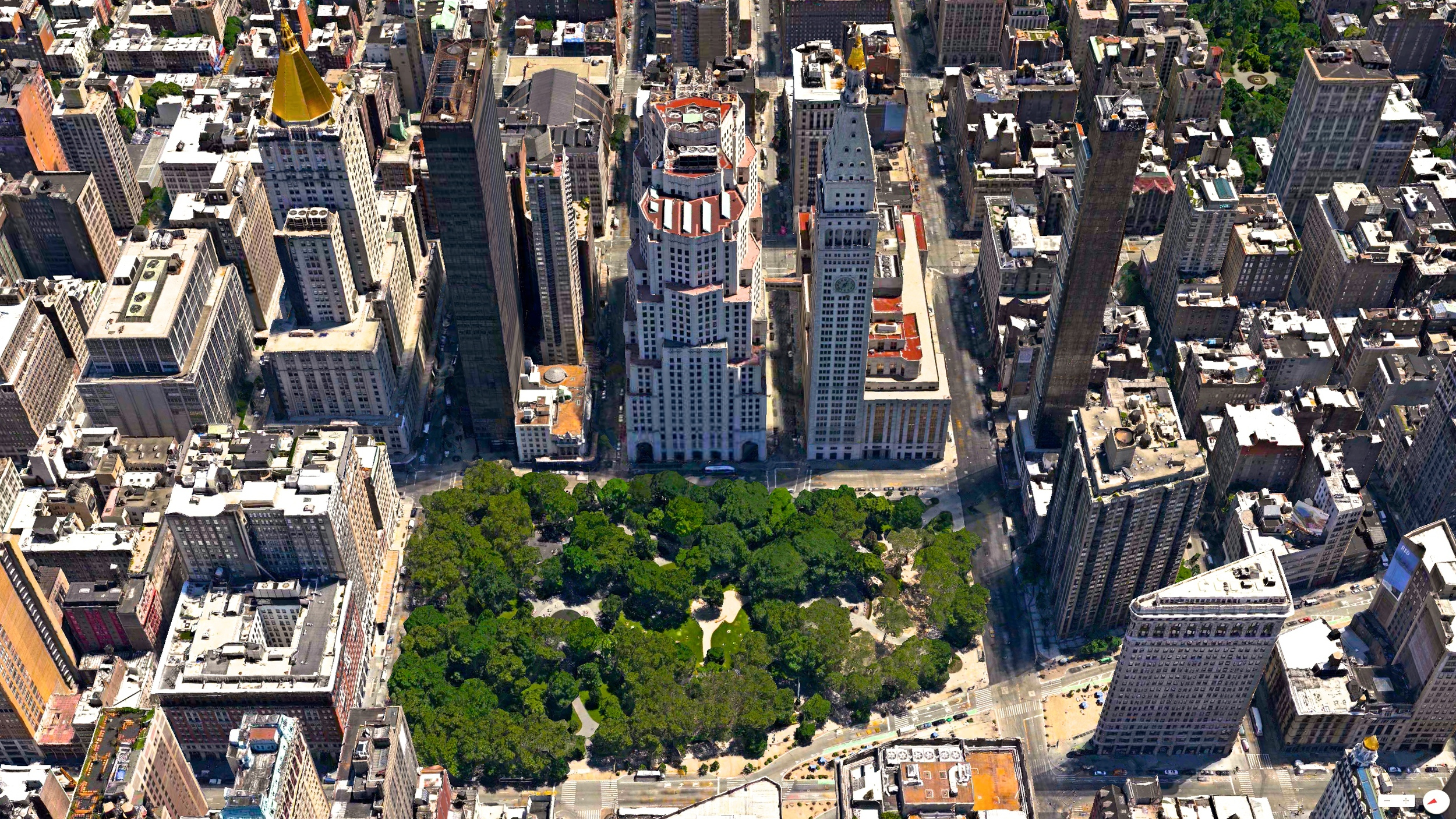 3D Sunday - 1/12/2014    Madison Square Park   New York City, New York, USA   40.742054°N 73.987984°W