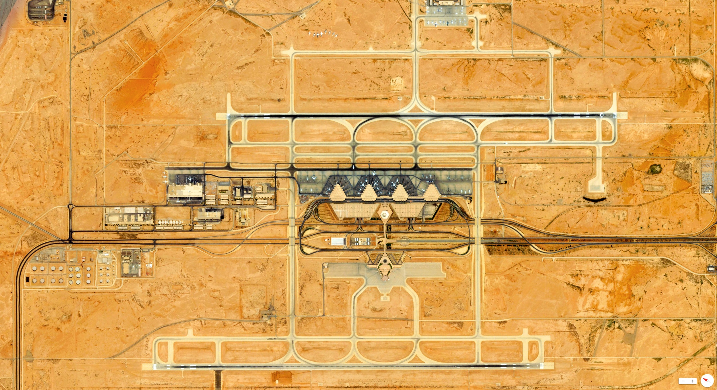 1/17/2014    King Khalid International Airport   Riyadh, Saudi Arabia   24°57′28″N 046°41′56″E