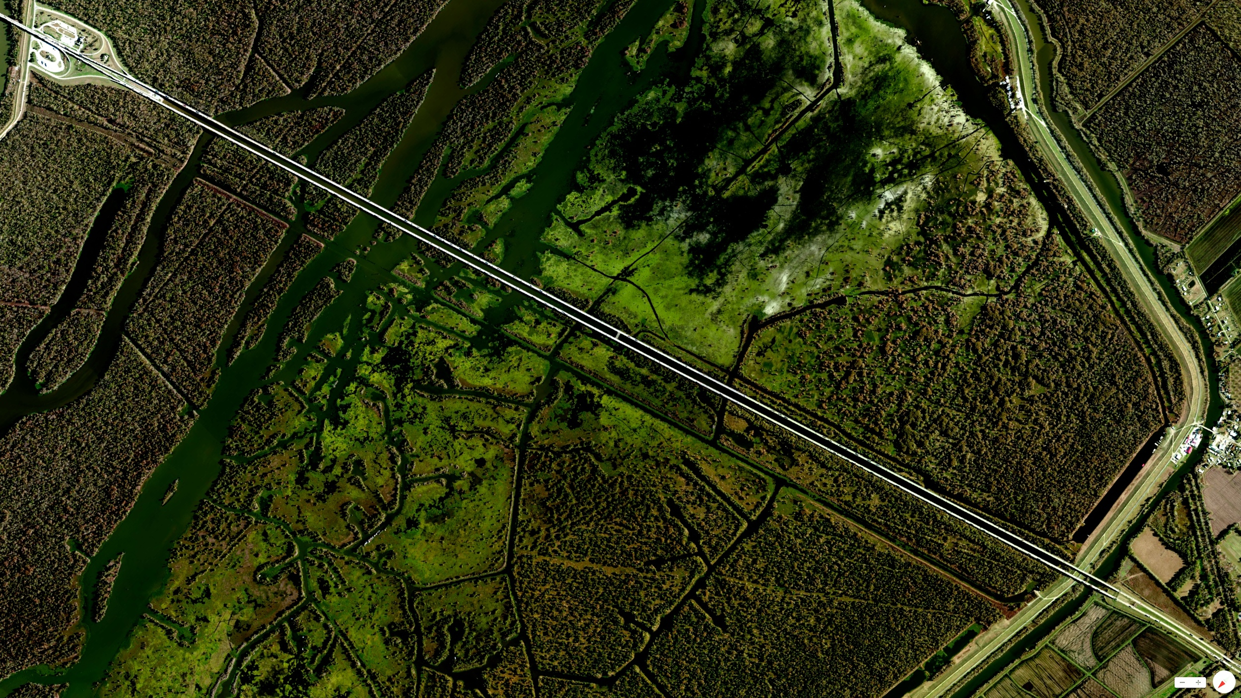 1/22/2014    Atchafalaya Basin Bridge   Breaux Bridge, Louisiana, USA   30°19′57″N 91°45′33″W