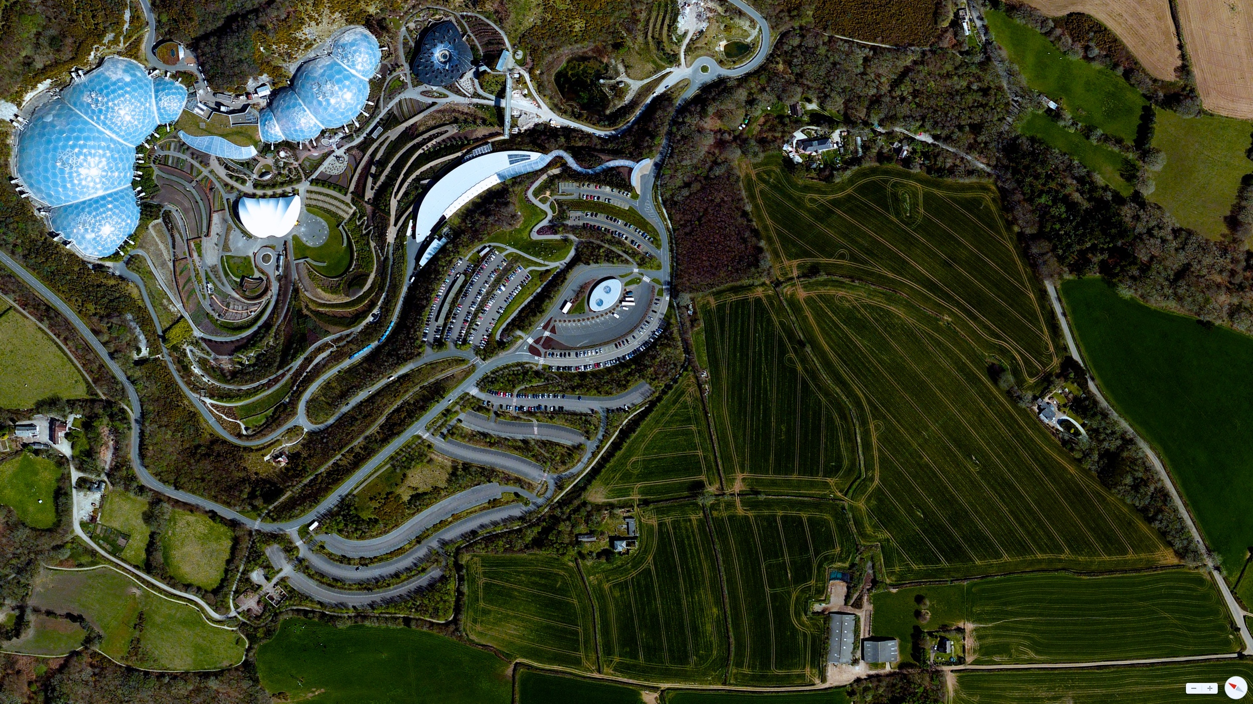 2  /17/2014    The Eden Project   Cornwall, England, United Kingdom   50°21′43″N 4°44′41″W