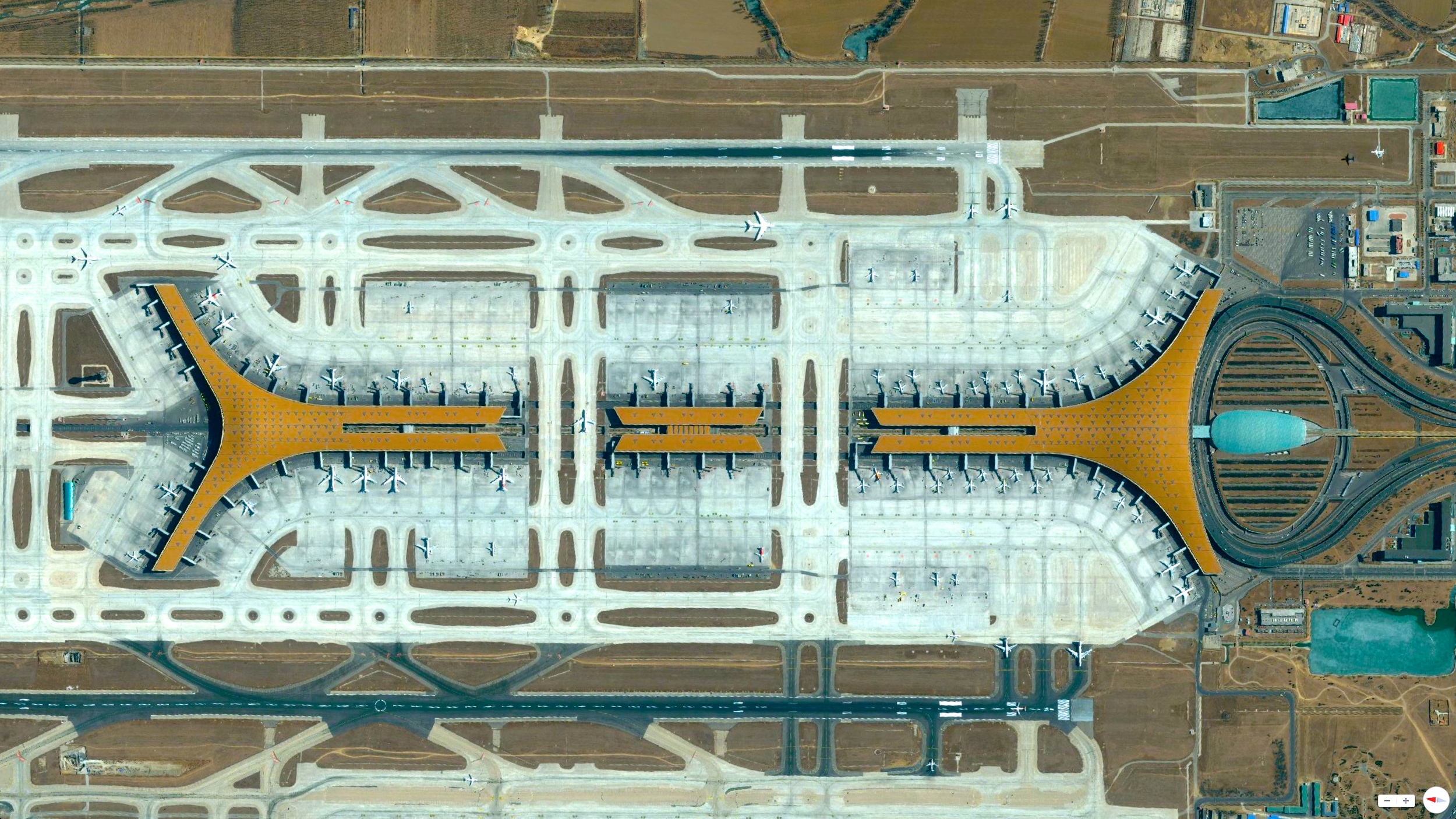 3/11/2014    Beijing Capital International Airport   Beijing, China   40°04′48″N 116°35′04″E