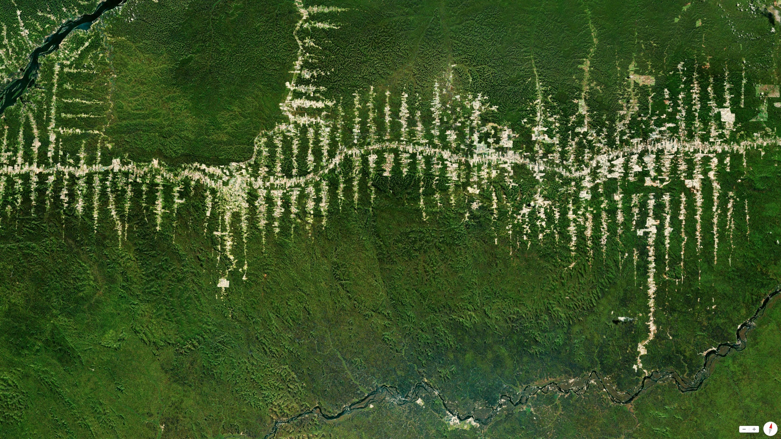 4/6/2014   Amazon Rainforest deforestation   Para, Brazil   5°40′S 52°44′W