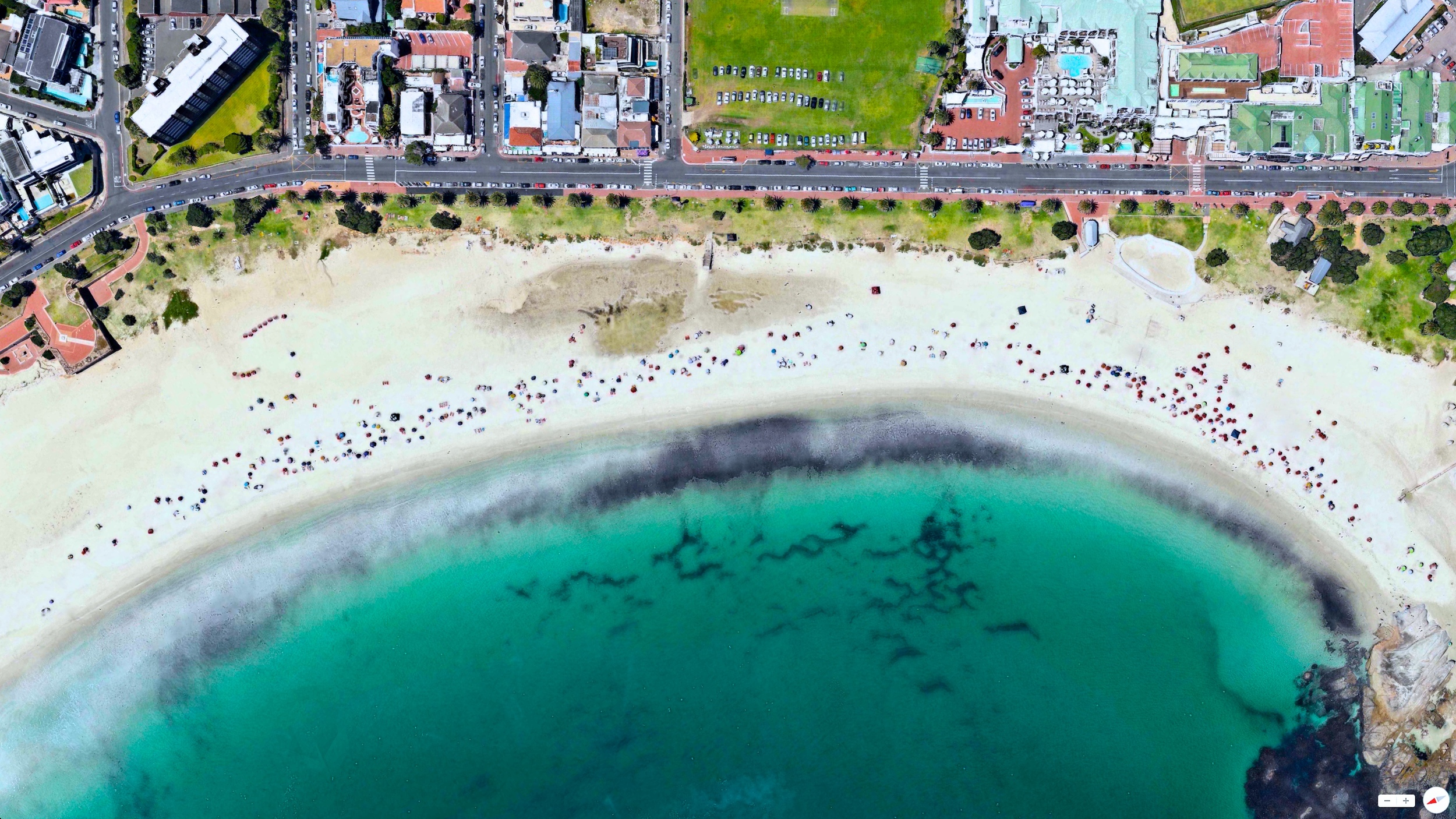 5/2/2014    Camps Bay Beach   Camps Bay, Cape Town, South Africa   33°57′00″S 18°23′00″E