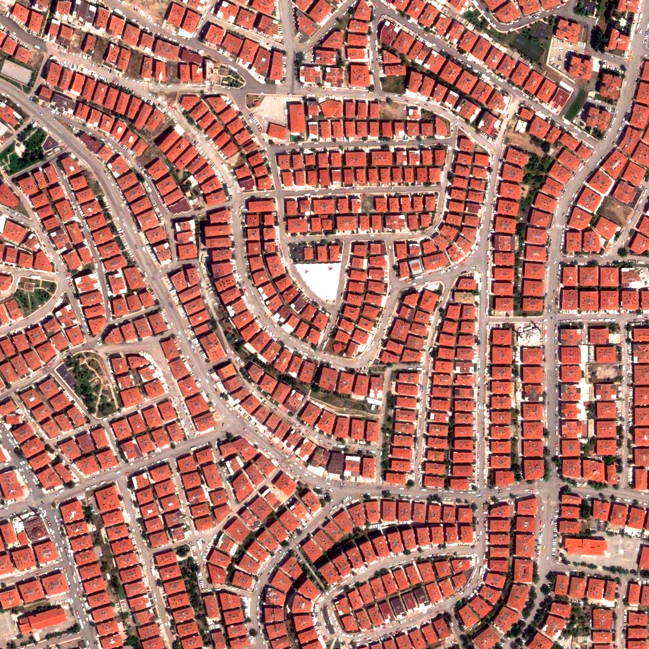 4/25/2015  Residential house  Ankara, Turkey  39.987497075°, 32.850163076°    Ankara, Turkey is home to more than five million residents and serves as the county's capital. Residential housing in the northern section of the city is visible here.