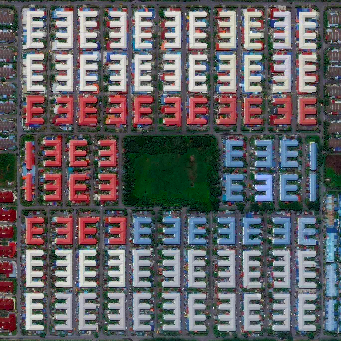 9/10/2015  Residential development  Miri, Malaysia  4.469321737°, 114.036864358°    Residential buildings are seen in Miri, Malaysia. In the decade after the year 2000, the population of the city increased approximately 40% and is currently home to more than 234,000 residents. Miri is located in the Sarawak region, one of the most popular ecotourism destinations in Malaysia and also the birthplace of the country's petroleum industry.