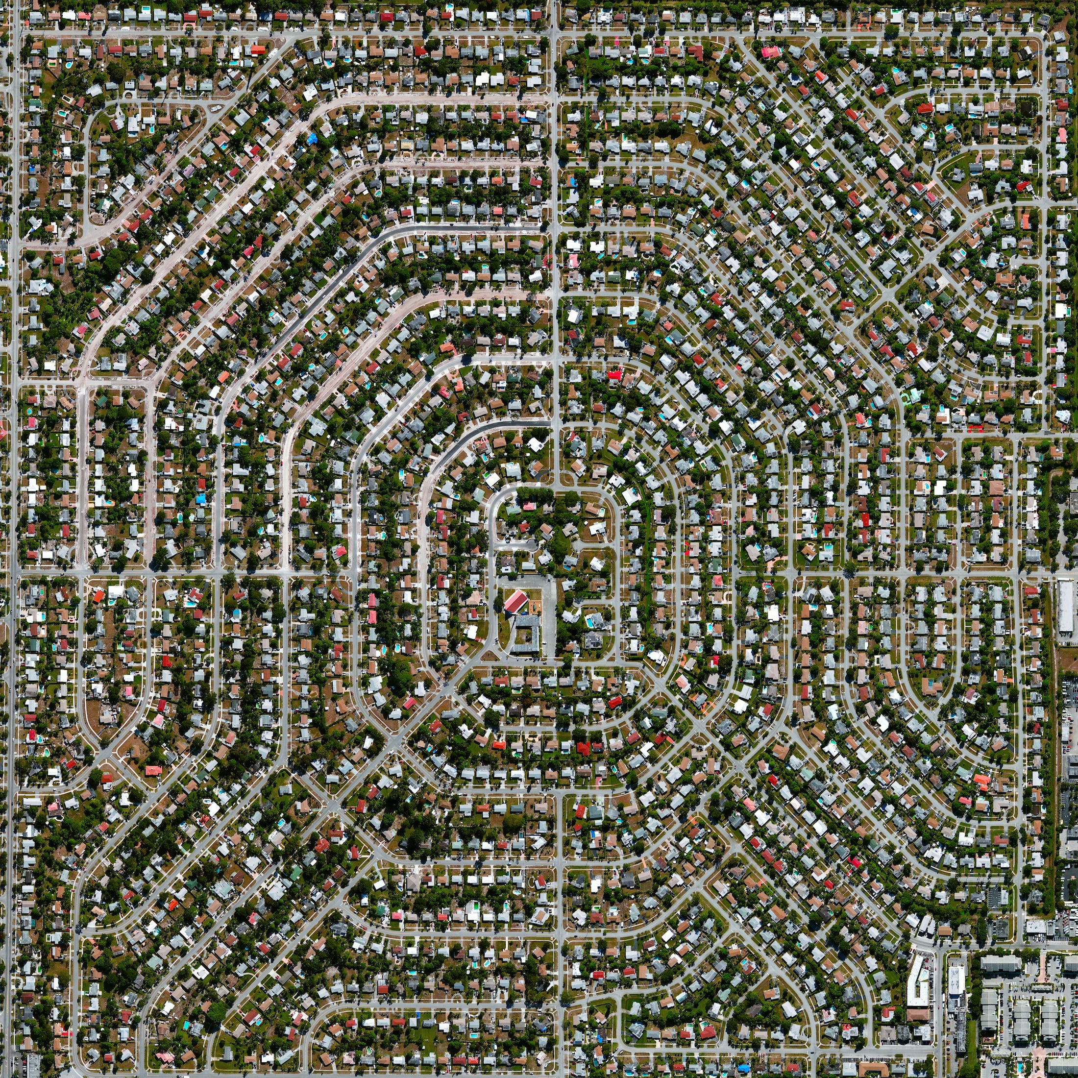 1/14/2016   Melrose Park   Fort Lauderdale, Florida, USA  26.113889, -80.193611    Melrose Park is a residential community in Fort Lauderdale, Florida, USA. The neighborhood is planned with streets in eight concentric octagons and contains 1,975 households.