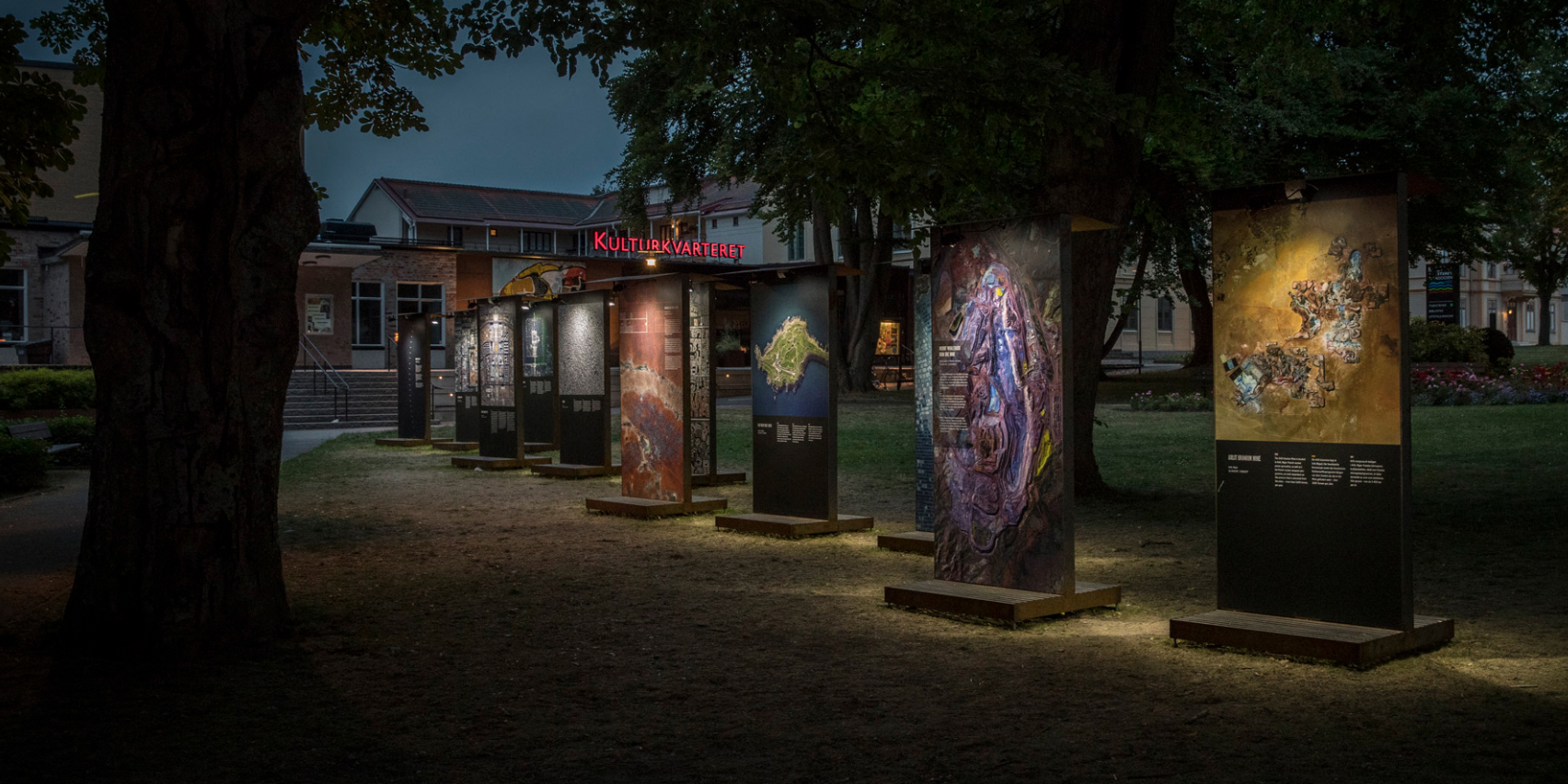 THE OVERVIEW EFFECT - Outdoor Exhibition