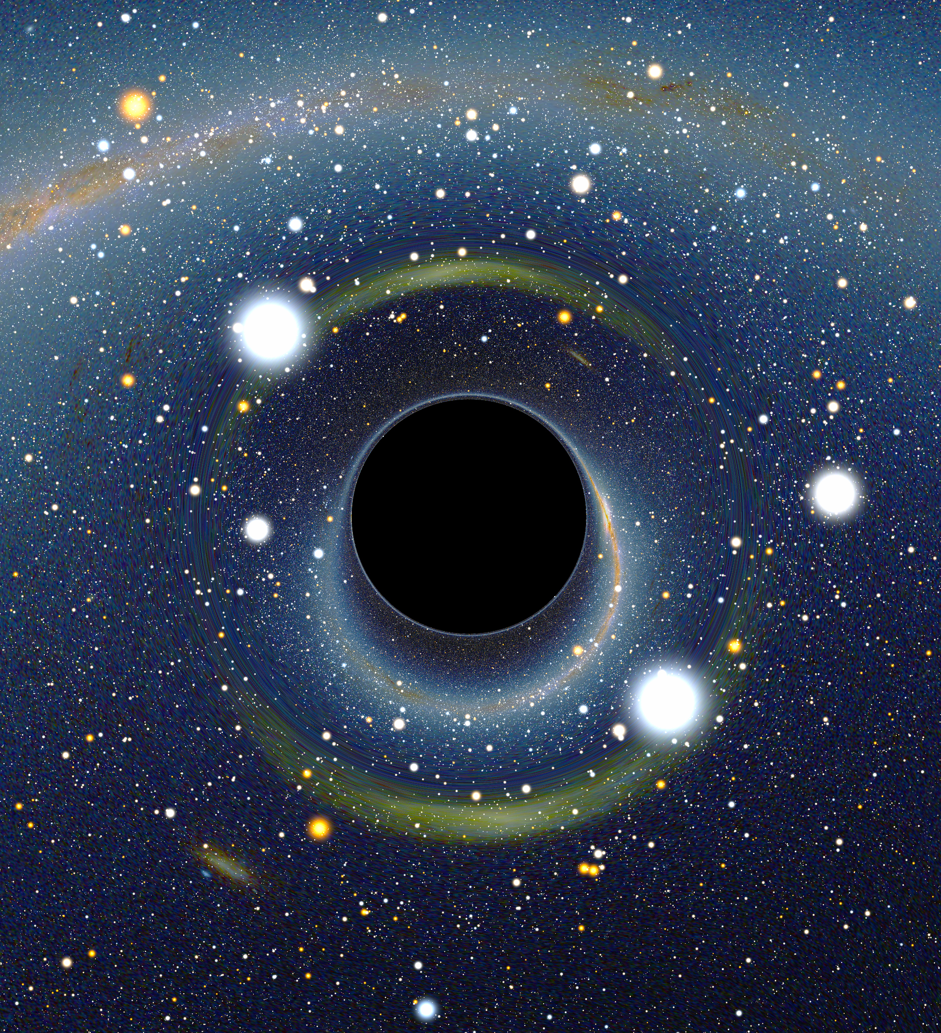 To honor the passing of the Steven Hawking, we are sharing this simulated image of a black hole. To date, there are no actual photographs of a black hole. Among his many groundbreaking discoveries, Hawking theoretically predicted that black holes emit radiation. We are saddened to hear of his loss but we are tremendously grateful for his immense contributions to science and to the knowledge of space.