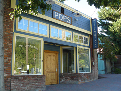 POPS in downtown Dunsmuir