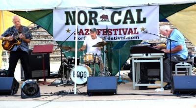 The Delbert Bump Trio, Sundial Music Festival, June 21, Riverfront Park, Redding.