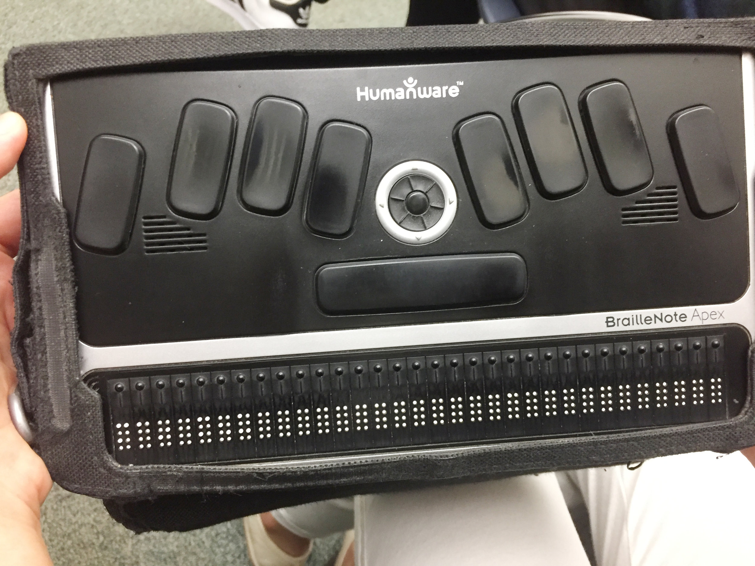 Refreshable Braille Typewriter