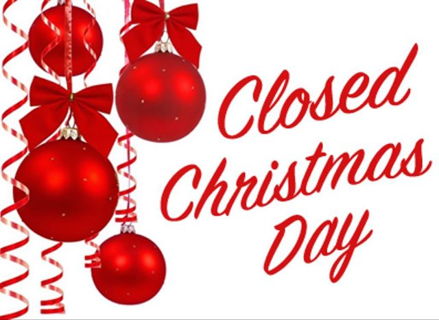 We're OPEN all day today! but closed tomorrow for Christmas. The VCA family wants to wish everyone a Happy and Safe Holidays!