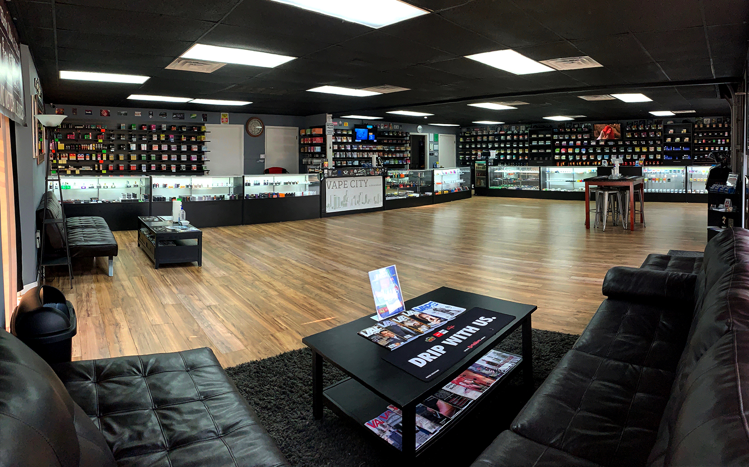 Vape City in Russellville - 105 East Parkway, Russellville, AR 72801(479) 498-8228Store Hours: Mon - Sat 9am - 9pmSunday - 11am - 7pm